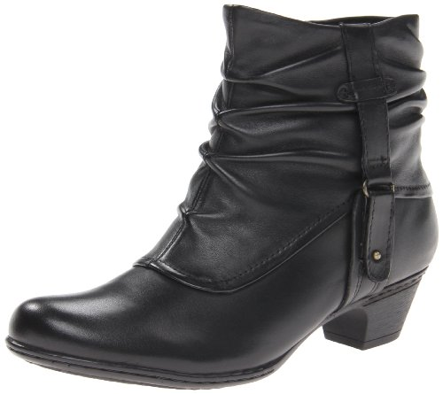 Rockport Cobb Hill Women's Alexandra Boot, Black, 7 W US
