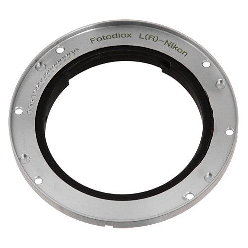 Fotodiox Pro Replacement Mount for Converting Leica R Lenses to Nikon F-Mount Bayonet