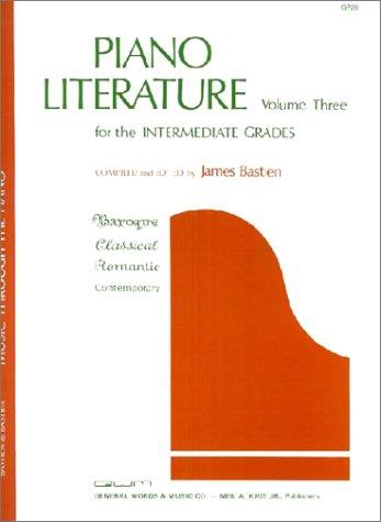 GP20 - Piano Literature - Volume 3 - Bastien ()