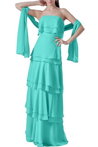 sera spalline arricciato abiti da Jade sera senza abito motivo da Sunvary per qUFw5xI
