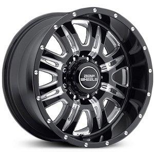 BMF Wheels Rehab Death Metal Black - 20 x 9 Inch Wheel (Bmf Rims)