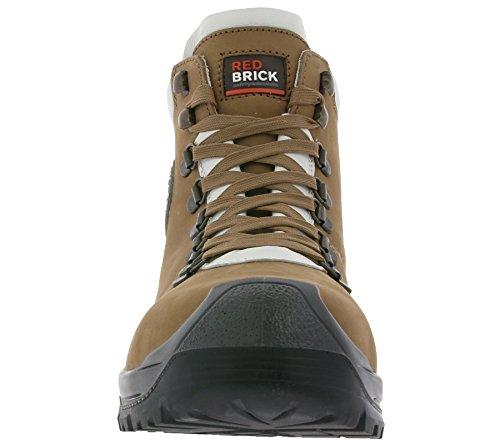 Redbrick Gravity Schuhe S3 Echtleder Sicherheitsschuhe Arbeitsschuhe