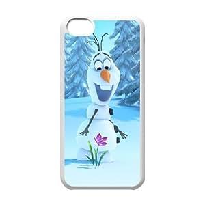 C-EUR Print Frozen Pattern Hard Case for iPhone 5C