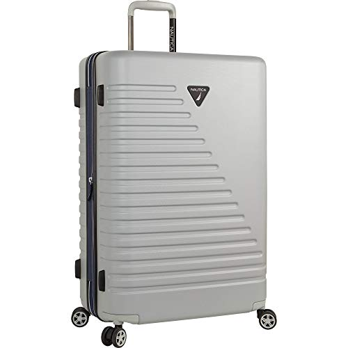 6da7795c6 Nautica Hardside Spinner Wheels Luggage - 28 Inch Expandable Extra Large  Travel Suitcase Rolling Bag with