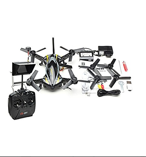 Lanlan 1PCS HD Aerial Vehicle Traversing Machine Cheerson CX-91 5.8G FPV Monitor Racing Quadcopter with 4.3 Inch 32CH Transmitter 720P HD Camera RTF Mode 2 Hobbies RC Drone