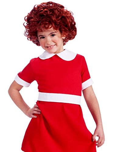 Orphan Halloween Costume (Annie Child Wig)