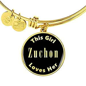 Zuchon v2-18k Gold Finished Bangle Bracelet Dog Lover Owner Mom Gifts Jewelry 5