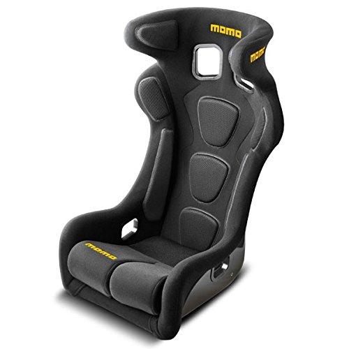 MOMO 1076BLK Racing Seat (Momo Seats Racing)
