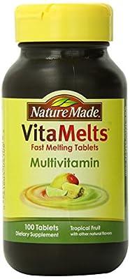 Nature Made Vitamelts Multivitamin Tablets, Tropical Fruit