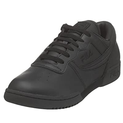 Fila Men's Original Fitness LEA-M, Triple Black, 12 M US