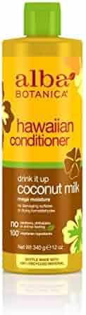 Alba Botanica Hawaiian, Coconut Milk Conditioner, 12 Ounce