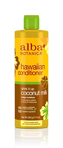 (Alba Botanica Drink It Up Coconut Milk Hawaiian Conditioner, 12 oz.)
