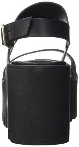 la Scarpe Donna Caviglia Windsor Nero Buffy Smith Tacco Cinturino Dietro con Col qn17FHnBp
