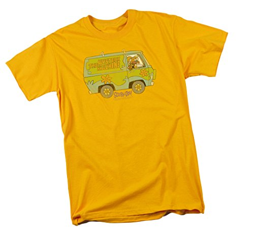 The Mystery Machine -- Scooby Doo Adult T-Shirt, -