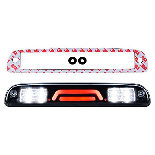 Third Brake Light LED 3rd Rear High Mount Tail Stop Cargo Lamp Compatible with 1999-2016 Ford Super Duty F-250 F-350 F-450 F-550 1995-2003 Mazda B-Series