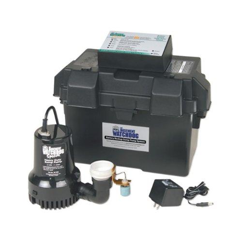 Basement Watchdog BWSP 1730 Gallons Per Hour Basement Watchdog Special Back-Up Sump Pump by Basement Watchdog
