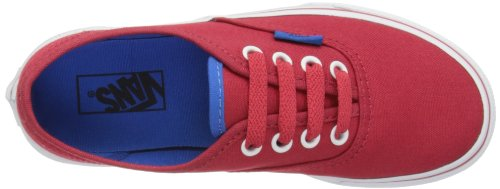 Vans Authentic, Zapatillas Unisex Bebé Rojo (Chinese Rot/Skydiver)