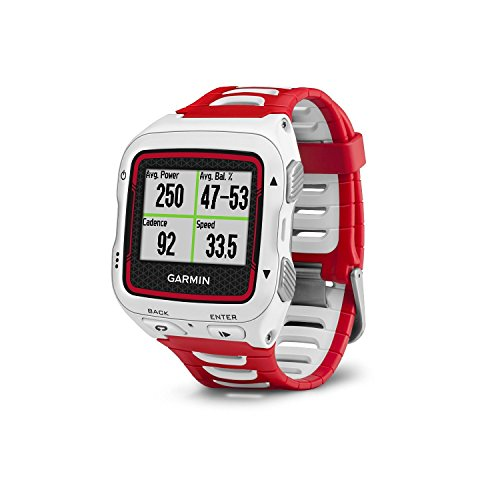 Garmin Forerunner 920XT White/Red GPS Sports Watch (Certified Refurbished) by Garmin