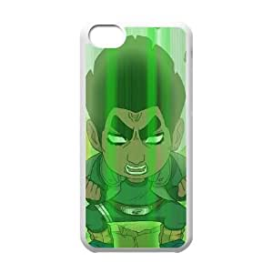 iphone5c White phone case Naruto Might Guy Best gift for boys NOF3718087