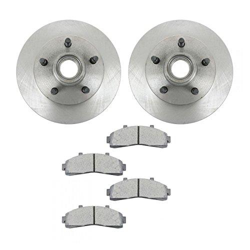 Brake Pad Rotor Kit Posi Metallic Front for Ford Ranger Mazda Pickup Ranger Pickup 2 Wheel Drive