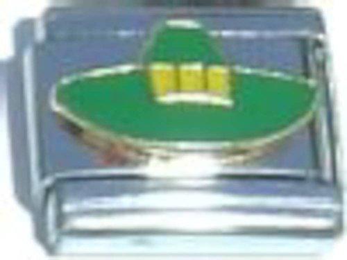 Green Hat Italian Charm