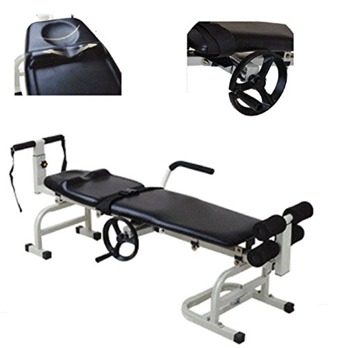 Back Table Traction (Jinon Therapy Massage Bed Table,Cervical And Lumbar Traction Bed Body Stretching Device Equipment for Reducing Lumbar Disease Adjustable Height)
