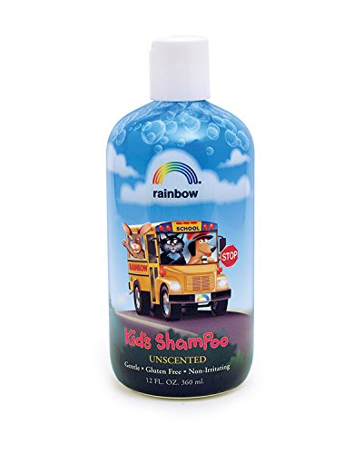 Rainbow Research Organic Herbal Shampoo for Kids Unscented, 12 Fluid Ounce
