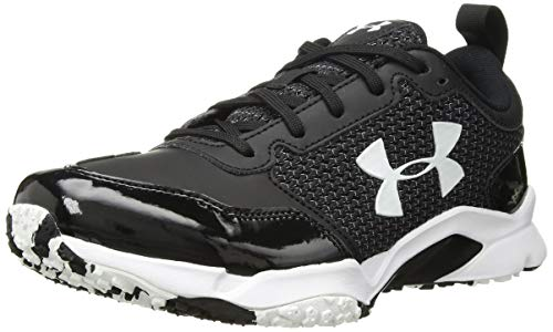 Under Armour Men's Ultimate Turf Trainer, Black (001)/Black, 11