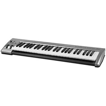 m audio keystation 49es 49 note usb midi controller keyboard old model musical