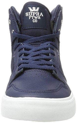Supra Mens Skytop III Shoes Midnight Leather/White kUM5GJK