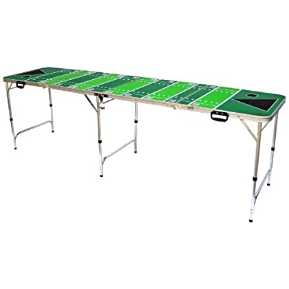 Image of Football Tailgate Beer Pong Table - 8' Long By Simply Sports