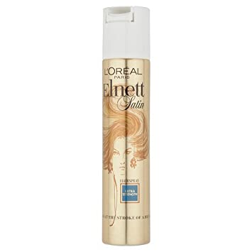 3c3b87b7dd6 Image Unavailable. Image not available for. Color: Elnett Satin Extra  Strength Hair Spray ...