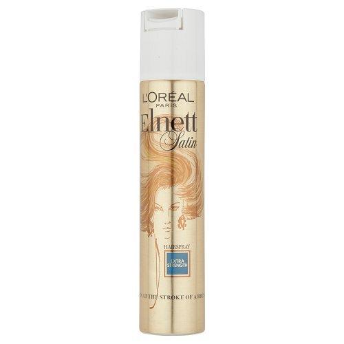 Elnett Satin Extra Strength Hair Spray by L'Oreal, 6.7 Ounce