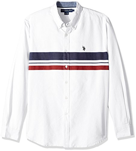 U.S. Polo Assn. Mens Long Sleeve Classic Fit Solid Shirt