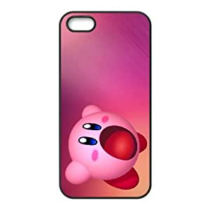 Kirby iPhone 4 4s Cell Phone Case Black zvde