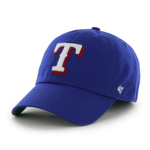 MLB Texas Rangers '47 Franchise Fitted Hat, Royal, Large