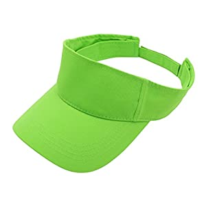 Top Level Sun Sports Visor Men Women – 100% Cotton Cap Hat