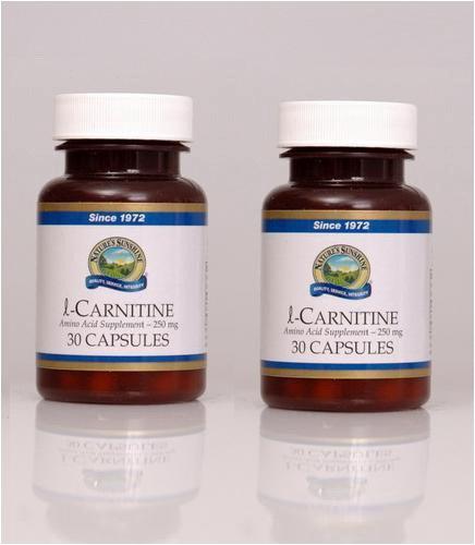 Naturessunshine l-Carnitine Amino Acid Supplement 30 Capsules (Pack of 2)