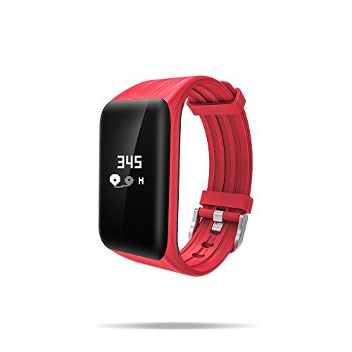 Meisijia K1 Smart bande imperméable à l'eau Fitness Tracker moniteur de sommeil Smart Bracelet notification rappeler bracelet IOS Android