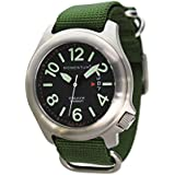 St. Moritz Momentum Steelix Black Green Field Watch 1M-SP74BS7G