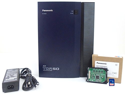 (Panasonic KX-TDA50G Hybrid IP PBX 4x4 Control Unit with Caller ID / Power Supply / Cover / SD)