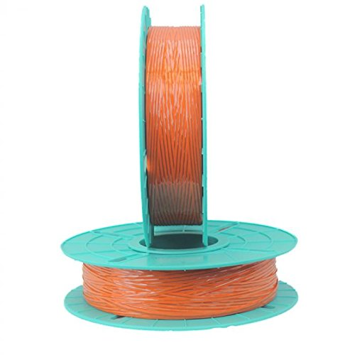 2,000 ft. Polycore Orange Non-Metallic Twist Tie Ribbons (12 Spools) - 17-2000-Orange