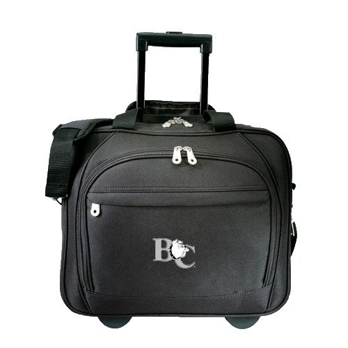 Barton Embassy Plus Rolling Black Compu Brief 'Official Logo' by CollegeFanGear