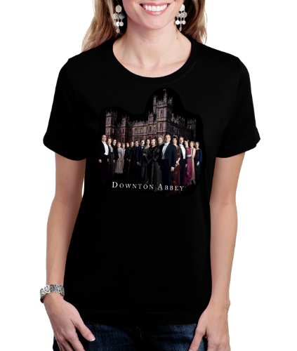 Ladies Tee Downton Abbey Cast | Officially Licensed Downton Abbey T-shirt