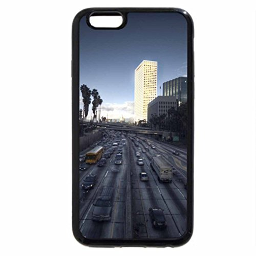 iPhone 6S / iPhone 6 Case (Black) highway through a city