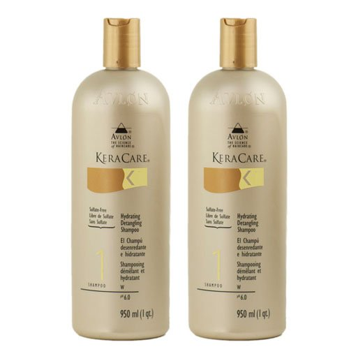 Keracare Shampoo Hydrating (Keracare Hydrating Detangling Shampoo 32oz (Pack of 2))