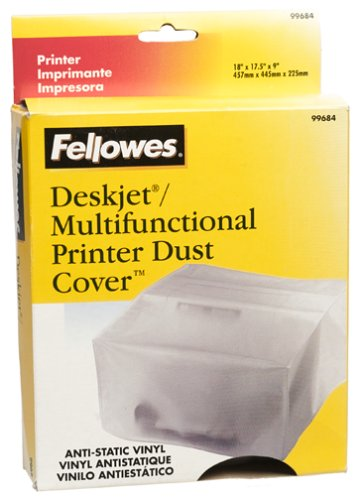 Amazon.com: Fellowes Dust Cover Vinyl for Printers Medium ...
