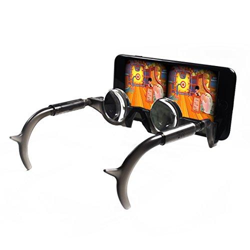Price comparison product image Stimuli VR 2VR - Black Thin Mobile Hands Free,  3D Glasses