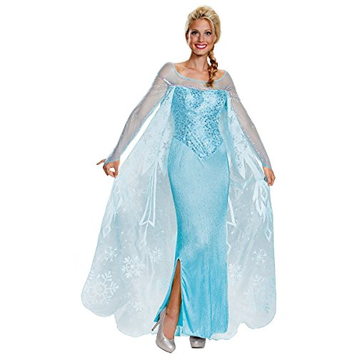 Prestige Elsa Costume - Small - Dress Size 4-6