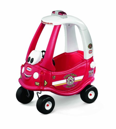 Tikes Cozy Little Car Coupe (Little Tikes Ride & Rescue Cozy Coupe-30th Ann Ed – (Amazon Exclusive))